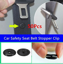 50X Update Clip Seat Belt Stopper Buckle Button Fastener Safety Car Seat Part