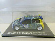 IXO Altaya 1:43 Scale Diecast Renault Clio S1600 Acropolis 2003 S. Jean Joseph
