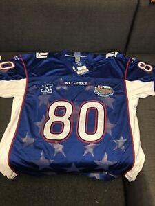 NWT Authentic Reebok NFL Shockey Jersey New York Giants 2004 ProBowl Size 56 NOS