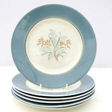 Vintage Grindley 1950s Crown of the Year Set 6 Tea Plates