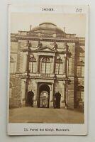 31968 Foto Dresden Real Museum Portal Um 1870-1880 Foto Para Friedrich Prag