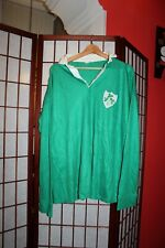 Vintage Ireland 1980's rugby Union jersey shirt  made in England ! ALY