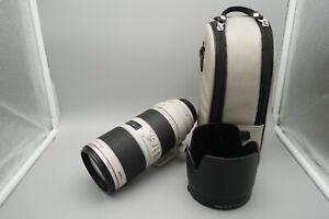 Canon EF 70-200mm f/2.8 L IS II USM geb. 10.2013 - 12 Monate Gewährleistung