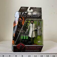 "2009 GI Joe Rise Of Cobra Rex ""The Doctor"" Lewis (Black) Action Figure"