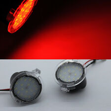2x Cool Red LED Side Mirror Puddle Lights For Ford F150 2009-2014  & RAPTOR