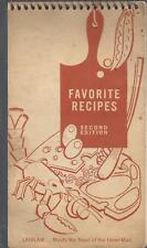 ASHVILLE NC 1961 LAIDLAW BROTHERS * FAVORITE RECIPES COOK BOOK 2nd edition RARE