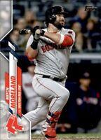 2020 Topps Update Mitch Moreland Base #181 - Boston Red Sox