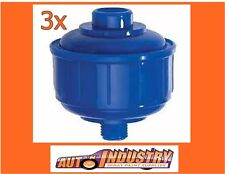 3 X DISPOSABLE MINI OIL & WATER TRAPS / AIR FILTERS FOR SPRAY GUNS SUIT HVLP
