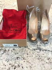 christian louboutin Very Price 120 Calf Laminato Shoes