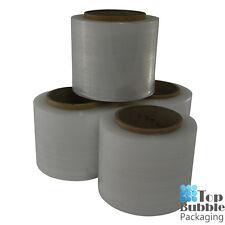Clear Bundling Film - 100mm x 300m 20um 4 Rolls FREE SHIPPING Stretch Wrap Small