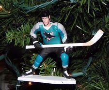 niklas SUNDSTROM san jose SHARKS hockey NHL xmas TREE ornament HOLIDAY jersey 24