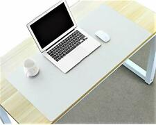 Desk Mat Blotter Table Protector Pad On Top Of 16 X 32 Inch Antique White