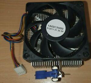 AMD Stock Heatsink & Fan 1A02C3W00 AM3 AM3+ AM2 AM2+ FM1 939 940 754 4 pin