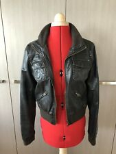 Dotti Leather Jacket Size 10