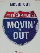 """""""MOVIN' OUT"""" BILLY JOEL-PIANO/VOCAL/GUITAR MUSIC BOOK-BRAND NEW ON SALE-RARE!!"""