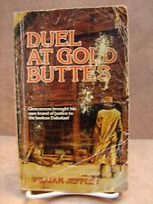 Paperback by William Jeffrey, Duel At Gold Buttes, 1981