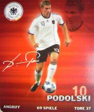 REWE DFB WM2010 SAMMELKARTE Nr 10 - LUKAS PODOLSKI BILD STICKER FUßBALL WM 2010