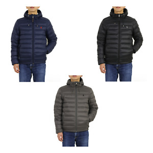 Polo Ralph Lauren Packable Hooded Down Jacket Coat Puffer -- 3 colors --