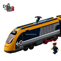 LEGO City Passenger train 60197 Locomotive only - No Back WHEELS or Powered UP