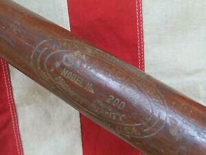 "Vintage Champion Wood Baseball Bat Babe Ruth Professional Model 35"" Amyx Mfg Co."