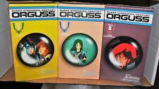 LOT OF 3 ORGUSS JAPANESE ANIMATION VHS TAPES SEALED ANIME