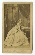 19th Century Fashion - 1800s Carte-de-visite Photograph - Heath & Beau of London