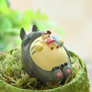 Studio Ghibli My Neighbor Totoro Mei Sleeping Modeling Figure Garden Toy Decor