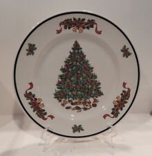 "JOHNSON BROS. VICTORIAN CHRISTMAS DINNER PLATE (S) 10 1/4"" MADE IN ENGLAND"