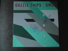 "OMD Autogramme signed LP-Cover ""Dazzle Ships"" Vinyl"