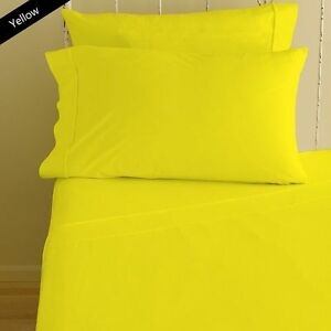 1000 TC New Egyptian Cotton Duvet Collection Queen/King/Calking Size Solid Color
