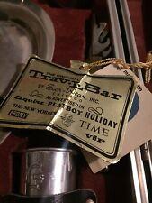 Vintage The Original Trav-L-Bar by Ever-Wear Mid Century Travel Bar w/key.