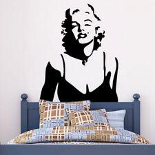Marilyn Monroe Living Room/Bedroom Background Waterproof Removable Wall Sticker