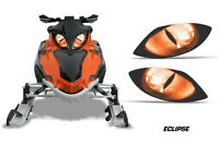 Snowmobile Headlight Eye Graphics Kit Decal Cover For Arctic Cat Firecat ECLPS O