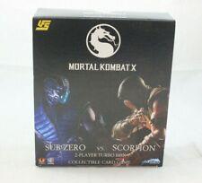 UFS Mortal Kombat X (Sub Zero vs. Scorpion) 2-Player Turbo Box CCG