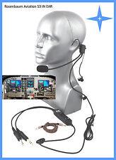 Rosenbaum Aviation ® Headset S3 IN EAR - Gönnen Sie sich den Luxus der Freiheit