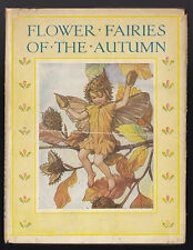 Cicely Mary Barker, Flower Fairies of the Autumn - Early Copy in Original D/W
