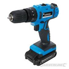 Heavy Duty Silverline 18v LITIO LI-ON Cordless Trapano Cacciavite Driver