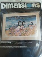 1987 Dimensions QUIET AFTERNOON Needlepoint Kit  sealed