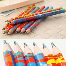 Fashion 20pcs/Lot Colored Pencils School Children Kid Graffiti Drawing Supplies