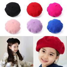 Parent-Child Beanie Wool Beret Cap Autumn Hat Felt Berets Pumpkin Felt Headgear