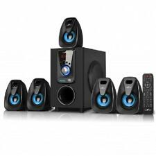NEW*beFree Sound*5.1 CHANNEL Surround*BLUETOOTH*Home Theater SPEAKER SYSTEM*Blue