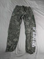 PINK Victoria's Secret Women's Floral Classic Sweatpants OS6 Green Size XS NWT
