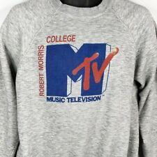 MTV Robert Morris College Sweatshirt Vintage 80s College Tour Size Medium
