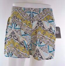 2015 NWT WOMENS ELEMENT LANEY SHORTS $40 M multi all over print elastic waist