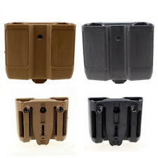 Fit Colt 1911 Double Magazine Mag Pouch Case Stack Pistol Cartridge Clip Holder