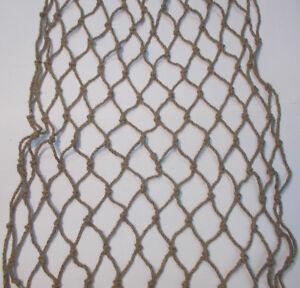 Natural Linen Garden Netting Horse Slow Feeder Anti Bird Pond Protection Decor