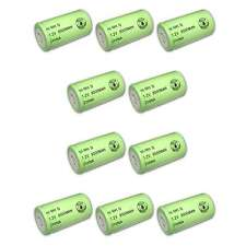 10x Exell 1.2V 8000mAh NiMH D Rechargeable Battery Flat Top Cell FAST USA SHIP
