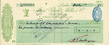 "glynn.mills & co "" holts branch whitehall london "" oct 1st 1951"