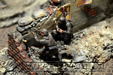 "Custom Built 1:35  WWII  Deluxe Weathered  ""German Sniper Team""  Soldier Set (2)"