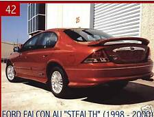 FORD FALCON AU  STEALTH REAR WING SPOILER FIBREGLASS SEDAN